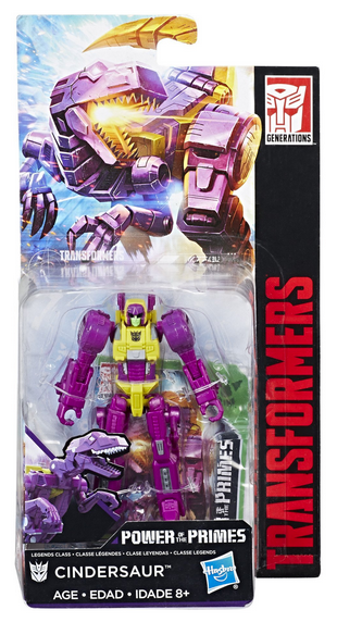 Transformers Power Of The Primes Wave 3 Legends Cindersaur
