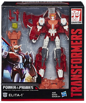 Transformers Power Of The Primes Voyager Elita 1