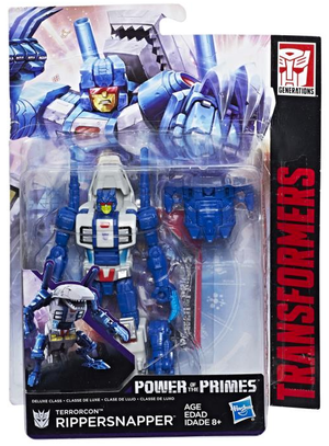 Transformers Power Of The Primes Deluxe Rippersnapper Action Figure