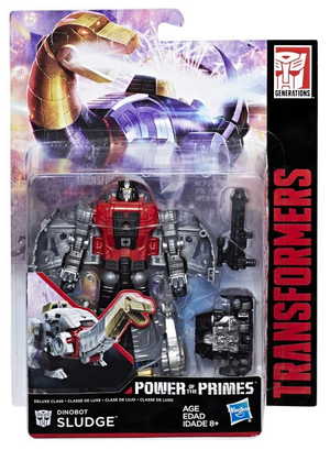 Transformers Power Of The Primes Deluxe Sludge Action Figure