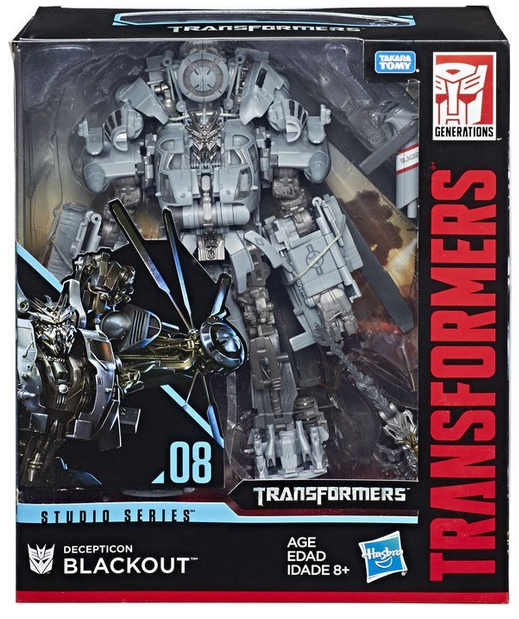 Transformers Studio Series Leader Blackout Action Figure