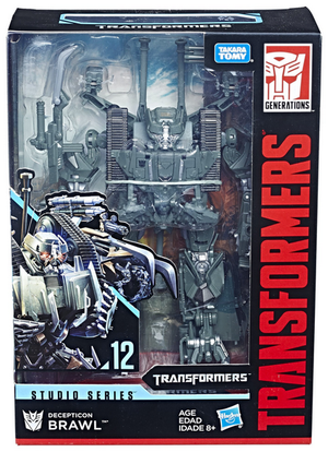Transformers Studio Series Voyager Brawl Action Figure