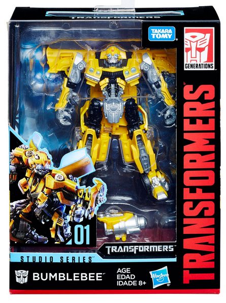 Transformers Studio Series Deluxe Bumblebee Action Figure