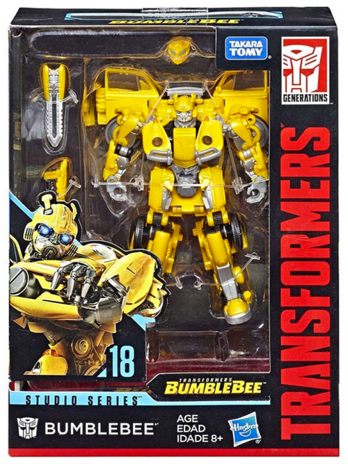 Transformers Studio Series Deluxe VW Bumblebee Action Figure