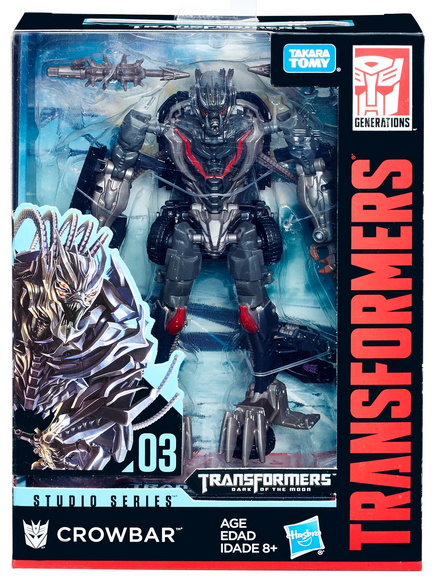 Transformers Studio Series Deluxe Crowbar Action Figure