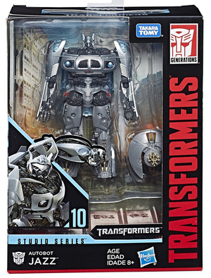 Transformers Studio Series Deluxe Jazz Action Figure