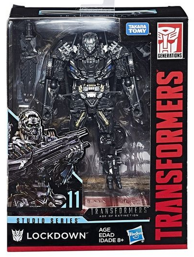 Transformers Studio Series Deluxe Lockdown Action Figure