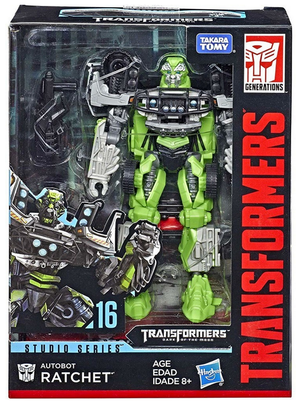 Damaged Packaging Transformers Studio Series Deluxe Ratchet Dark of the Moon Action Figure
