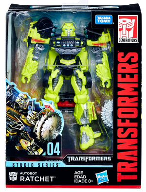 Transformers Studio Series Deluxe Ratchet Action Figure