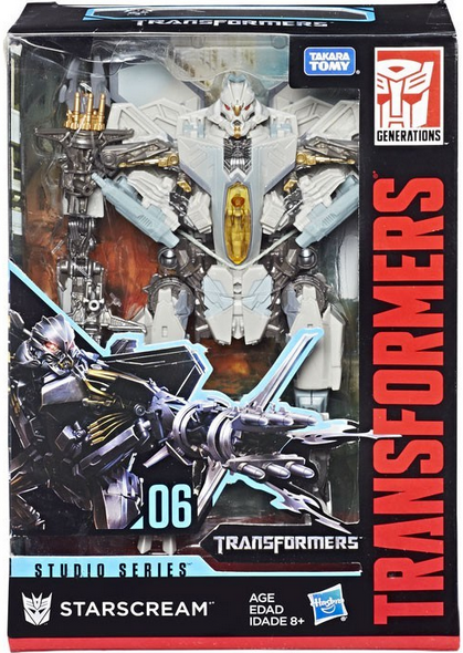 Transformers Studio Series Voyager Starscream Action Figure