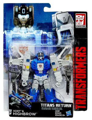 Transformers Titans Return Deluxe Class Highbrow Action Figure