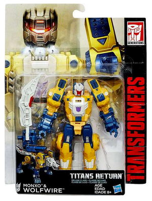 Transformers Titans Return Deluxe Class Wolfwire Action Figure