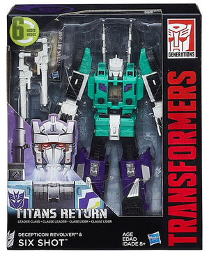 Transformers Titans Return Leader Class Six Shot