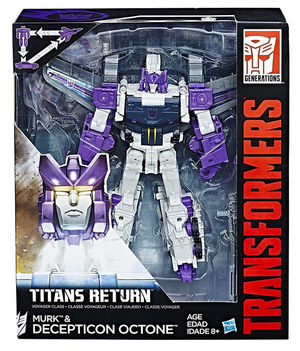 Transformers Titans Return Voyager Class Decepticon Octone
