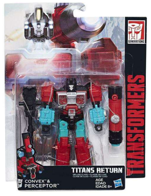 Transformers Titans Return Deluxe Class Autobot Convex & Perceptor