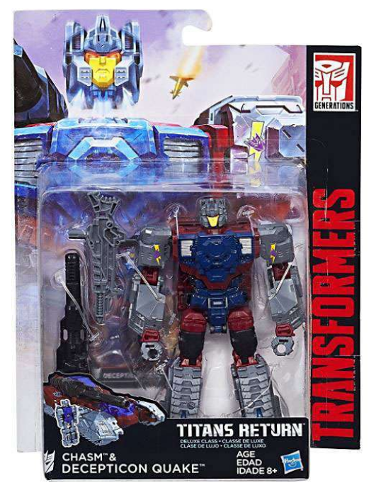 Transformers Titans Return Deluxe Class Decepticon Chasm & Quake