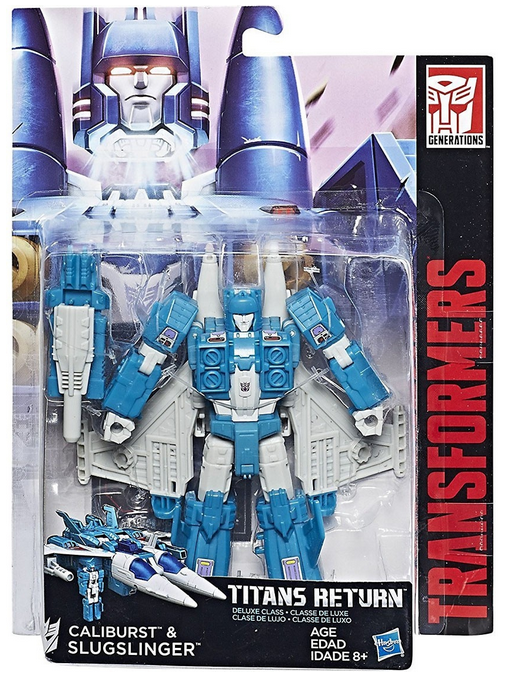 Transformers Titans Return Deluxe Slugslinger Action Figure
