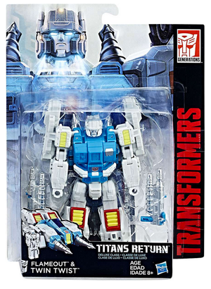 Transformers Titans Return Deluxe Class Autobot Twintwist