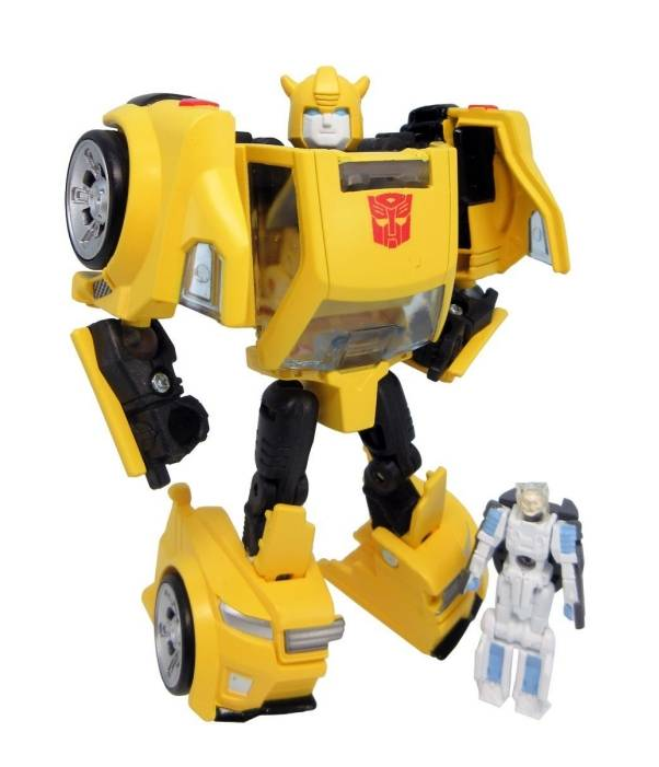 Transformers Takara Tomy LG-54 Bumblebee & Exo Suit Spike Action Figure