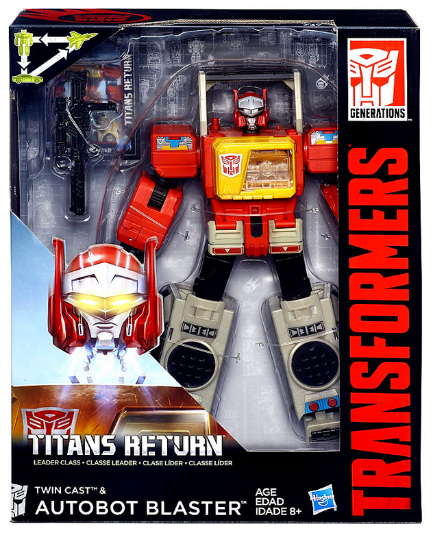 Transformers Titans Return Leader Blaster Action Figure