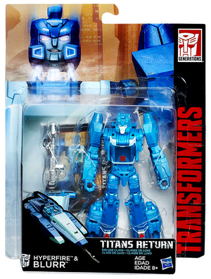 Transformers Titans Return Deluxe Blurr