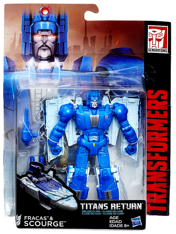 Transformers Titans Return Deluxe Scourge