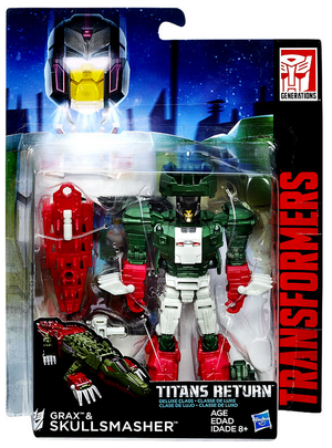 Transformers Titans Return Deluxe Skullsmasher