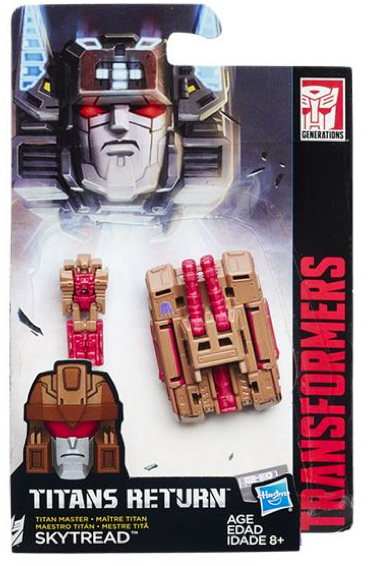 Transformers Titans Return Master Skytread