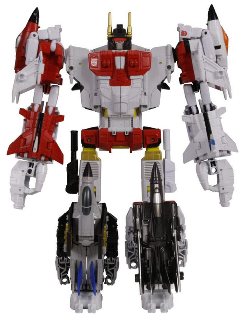 Transformers Takara Tomy Unite Warriors UW-01 Superion Action Figure Box Set