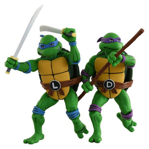 Teenage Mutant Ninja Turtles Neca Leonardo & Donatello Action Figure 2-Pack Pre-Order