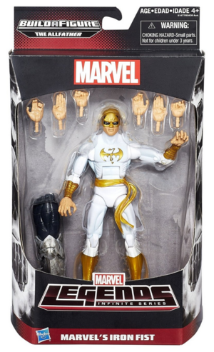 Marvel Legends Avengers Series Iron Fist Action Figure