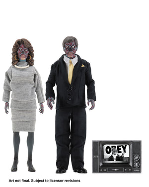 They Live Neca 8 Inch Clothed 2-Pack Action Figure