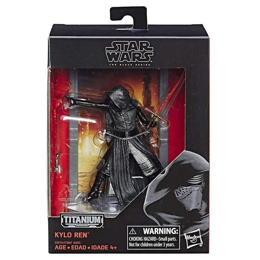 Star Wars Titanium Series 40th Anniversary Wave 2 Kylo Ren Action Figure
