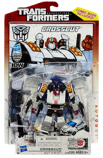 Transformers 30th Anniversary Generations Deluxe Autobot Crosscut Action Figure