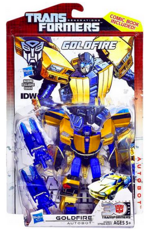 Transformers 30th Anniversary Generations Deluxe Autobot Goldfire