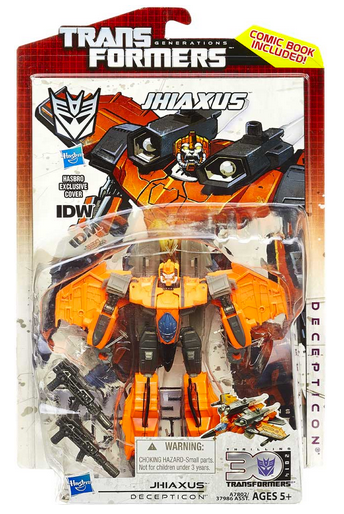 Transformers 30th Anniversary Generations Deluxe Decepticon Jhiaxus Action Figure