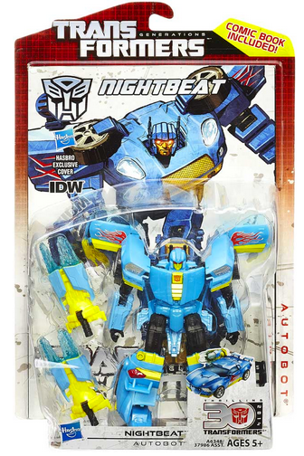 Transformers 30th Anniversary Generations Deluxe Autobot Nightbeat Action Figure