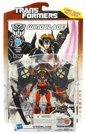 Transformers 30th Anniversary Generations Deluxe Autobot Windblade Action Figure