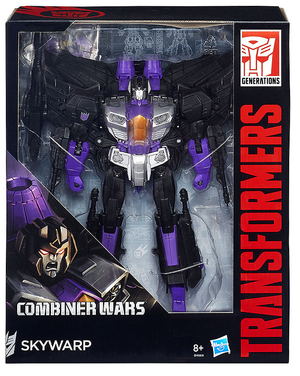 Transformers Combiner Wars Leader Decepticon Skywarp