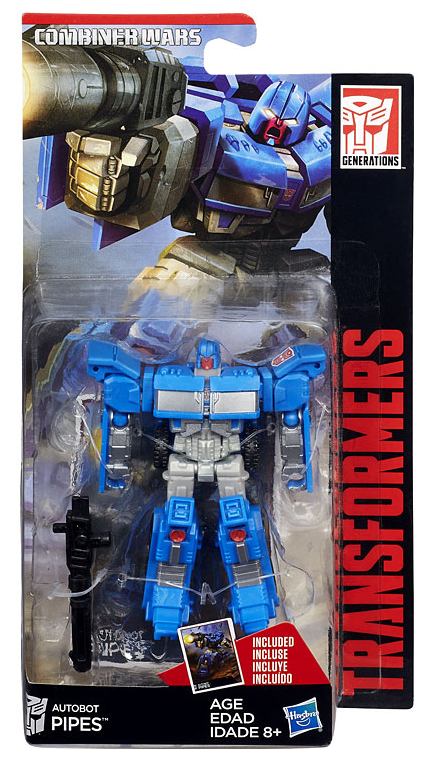 Transformers Combiner Wars Legends Figure Autobot Pipes