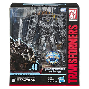 Transformers Studio Series Exclusive 3D The Ride Leader Megatron Action Figure Pre-Order