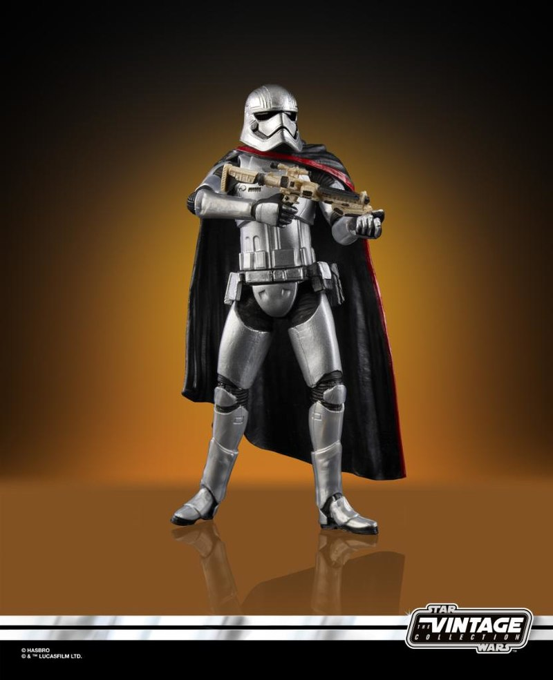 Star Wars The Vintage Collection Force Awakens Captain Phasma Action Figure Coming Soon