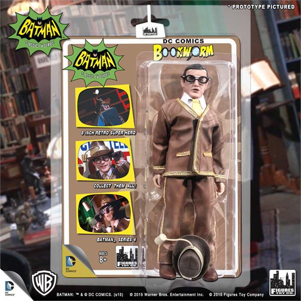 DC Retro Mego Kresge Style Batman TV Series Bookworm Action Figure - Action Figure Warehouse Australia | Comic Collectables