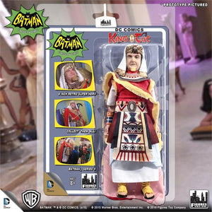 DC Retro Mego Kresge Style Batman TV Series King Tut Action Figure - Action Figure Warehouse Australia | Comic Collectables