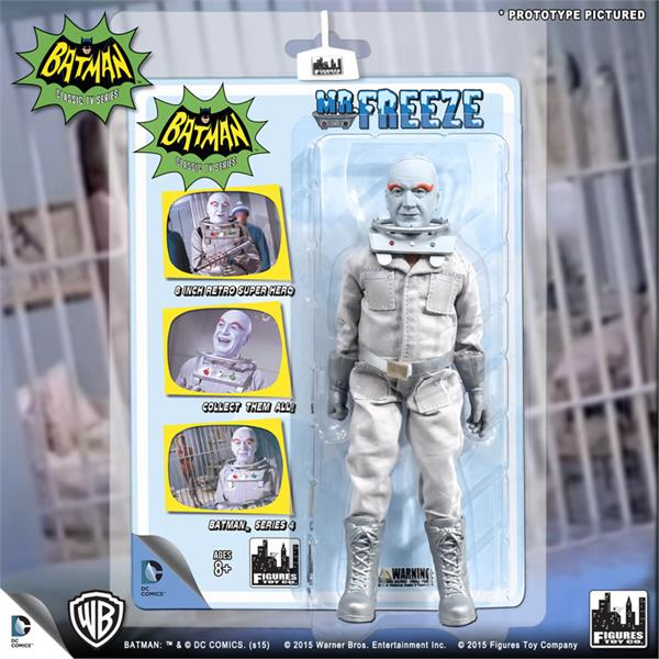 DC Retro Mego Kresge Style Batman TV Series Mr Freeze Action Figure - Action Figure Warehouse Australia | Comic Collectables