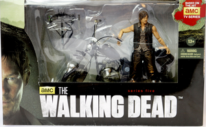 The Walking Dead Tv Series 5 Deluxe Daryl Dixon W/Chopper