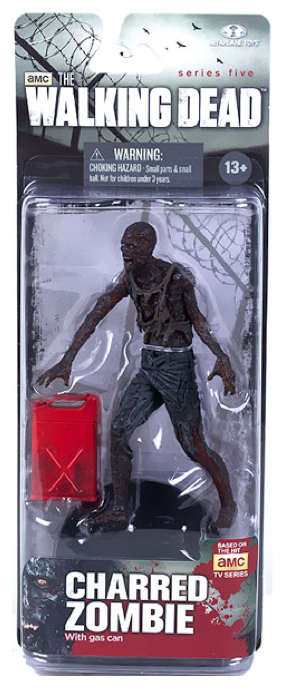 The Walking Dead Tv Series 5 Charred Zombie