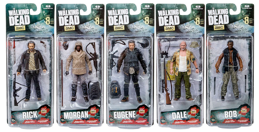 The Walking Dead Tv Series 8 Complete Set Of 5