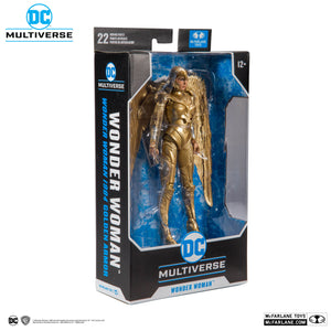 DC Multiverse McFarlane 1984 Wonder Woman Gold Armor Action Figure