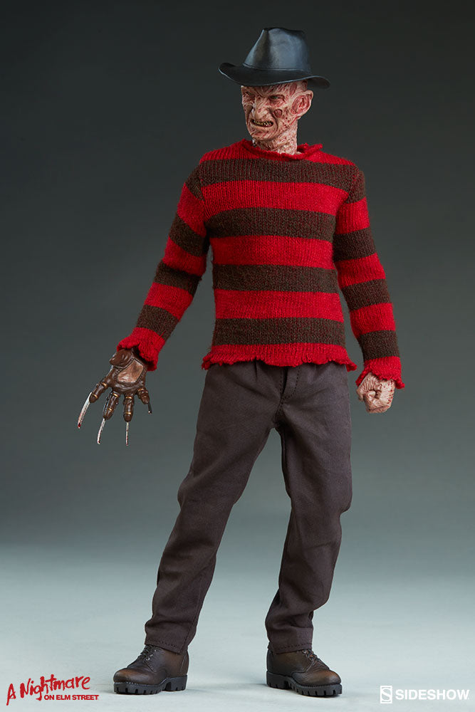 A Nightmare On Elm Street Sideshow Collectibles Freddy Krueger 1:6 Scale Action Figure - Action Figure Warehouse Australia | Comic Collectables